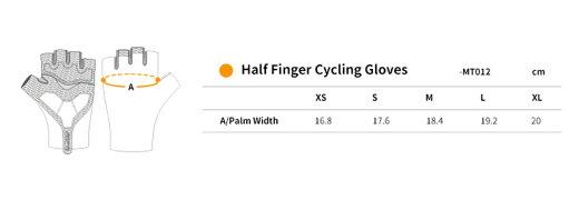 Monton[モントン]ハーフフィンガー・サイクリング・グローブ自転車用手袋指切り[Skull]【店頭受取対応商品】
