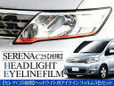 セレナ C25 後期 3D曲面 アイラインフィルム 3色セット