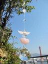LoveLoveハートの天使サンキャッチャー《幸せと愛がいっぱい》クリアー/天然石/天使/エンジェル ...