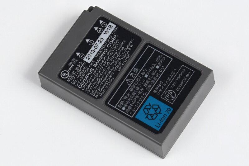 ポイント5倍!4/22 20:00~4/30 23:59 OLYMPUS オリンパス BLS-5 純正 リチウムイオン充電池 バッテリー BLS5