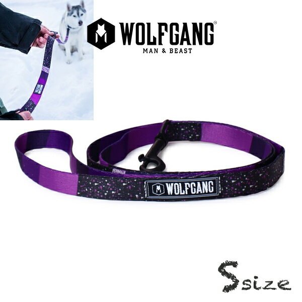 犬 リード  ウルフギャング WOLFGANG   SneakFreak LEASH ( S size 全長:122cm) WOLFGANG MAN & BEAST  アメリカンメイドネコポス便対応