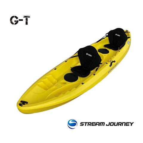 GT(Giant Trevally)/ジーティー カヤック本体/AY【送料無料】【カヤック】【アクティビティ】【カヌー】【シーカヤック】【フィッシングカヤック】カラーイエロー