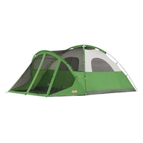 テント・タープ, テント Coleman Dome Tent with Screen Room Evanston Camping Tent with Screened-In Porch