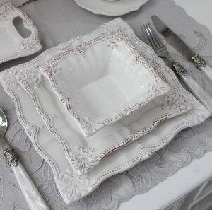 アンティーク風なフレンチ食器シェルシリーズ【ディナープレートディナー皿】フレンチ食器フランスアンティーク調陶器フレンチカントリーシャビー