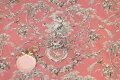 スタイルロココ フランス製 トワルドジュイ柄 貴婦人ブランコ・ピンク系 THEVENON社 【輸入生地 カーテン生地 ファブリック カルトナージュ テーブルクロス カット販売】