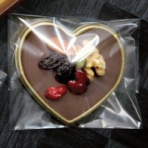 【バレンタイン】チョコレートギフトセットハート型トレーと袋セット【デザートスイーツパッケージ】