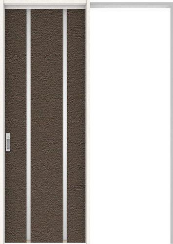 ハピアプレミア 吊戸・引込 3Pデザイン扉セット 2300高 1645幅 リアーピダーク 大建工業の建具:住まコレ