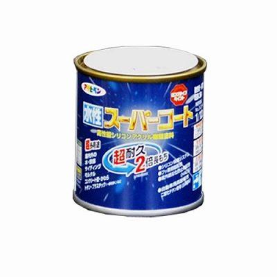 【2セット】アサヒペン 水性ス−パ−コート オーシャンブルー