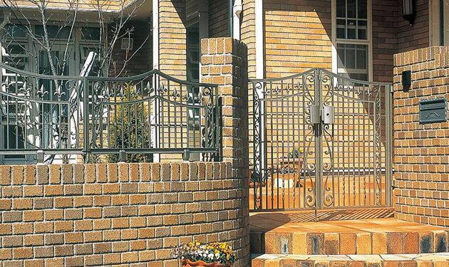 セレネス 鋳物門扉 両開きセット:住まコレ