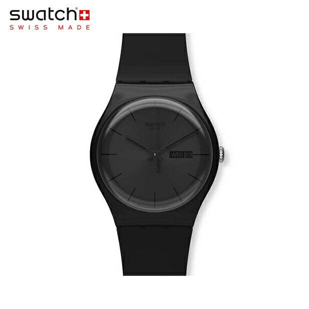 腕時計, メンズ腕時計 Swatch BLACK REBEL SUOB702Originals () New Gent ()