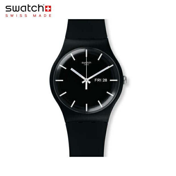 腕時計, メンズ腕時計 Swatch MONO BLACK SUOB720Originals () New Gent ()