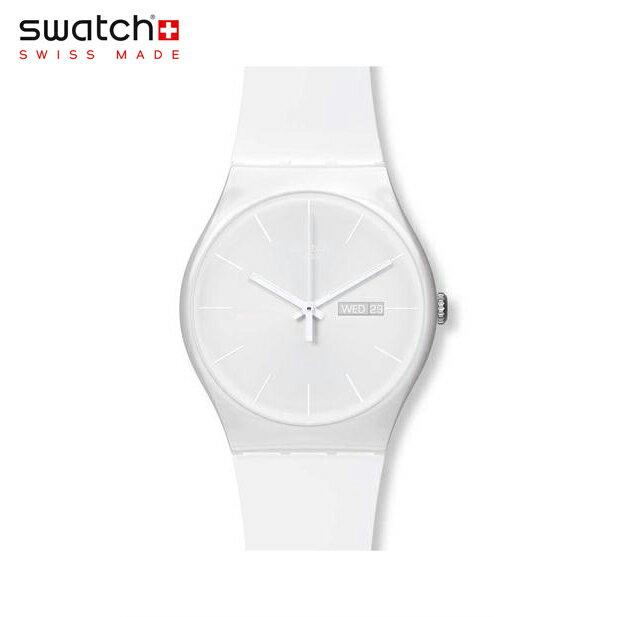腕時計, メンズ腕時計 Swatch WHITE REBEL SUOW701Originals () New Gent ()