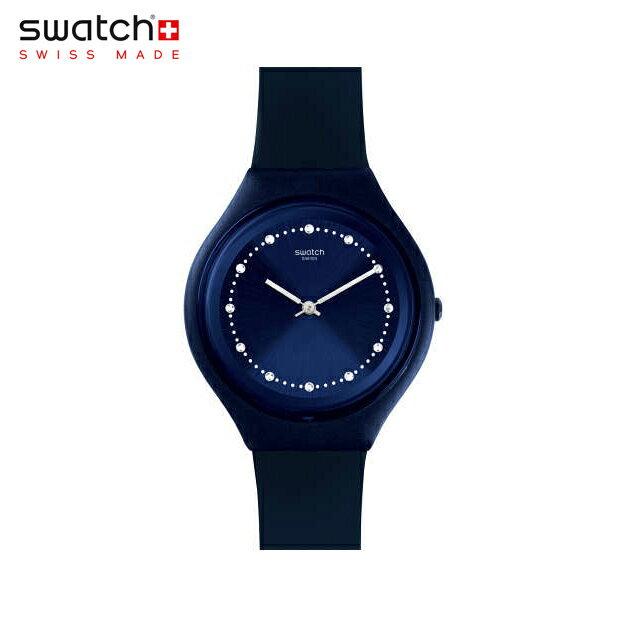 腕時計, レディース腕時計 Swatch SKINSPARKS SVUN100Skin () Skin Big ()