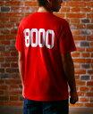 お歳暮 ギフト 陸奥八仙 むつはっせん 8000Tシャツ 赤色 LLサイズ 青森県 八戸酒造 Tシャツ コンビニ受取対応商品 はこぽす対応商品 プレゼント