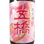 【予約販売:3月上旬入荷予定】五橋純米酒春ラベル1.8L[山口県/酒井酒造/日本酒]