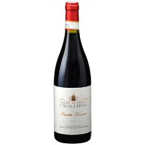 お酒 母の日 ギフト バルドリーノ スペリオーレ サンタ・ルチア / カヴァルキーナ 赤 750ml 12本 イタリア ヴェネト 赤ワイン ヴィンテージ管理しておりません、変わる場合あり プレゼント ラッキーシール対応 ケース販売 送料無料