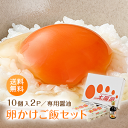 送料無料「卵かけご飯セット(太陽卵10個2パック×卵かけご飯専用醤油1本)」赤玉 鶏卵 新鮮 九州産 TKG 贈答用 ギフト お歳暮 こだわり卵 プレゼント