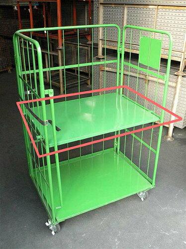 RS-5 中間棚 カゴ台車 カゴ車 ボックスパレット ロールボックスパレット ...
