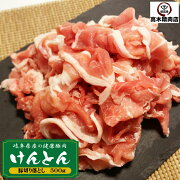 【けんとん豚切り落とし500g】岐阜県産/すき焼き/豚丼/炒め物に