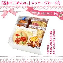 【遅れてごめんね】母の日ギフト小さなケーキ屋さんのプチスイーツ6種セット。母の日メッセージカード付【送料無料】【6】no-hana