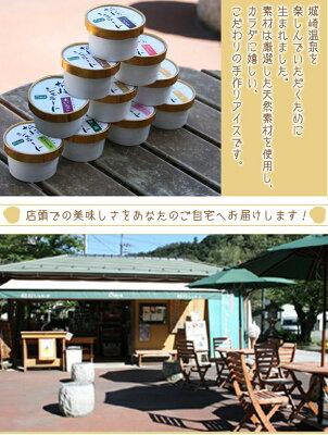 兵庫県・城崎温泉で人気のスイーツ店ちゃや城崎ジェラート詰め合わせ10個セット