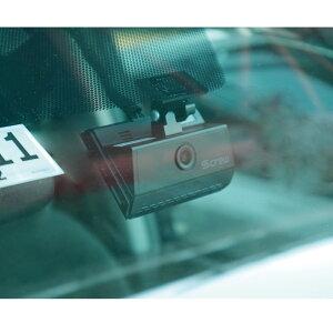 【送料無料】タッチパネル搭載コンパクトな2カメラ式ドライブレコーダーS-crewISDR-500(16GB)