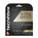 【12Mカット品】テクニファイバー エックスワンバイフェイズ(1.24mm/1.30mm)硬式テニス マルチフィラメントガット(X-ONE BIPHASE 1.24mm/1.30mm)TFG902/TFG901