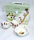 幼児食器セット ベビー食器セット(陶磁器) くまのがっこう 0616-81
