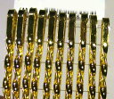 ゴールド ヘアピン・ねじりピン 10本 1117-08