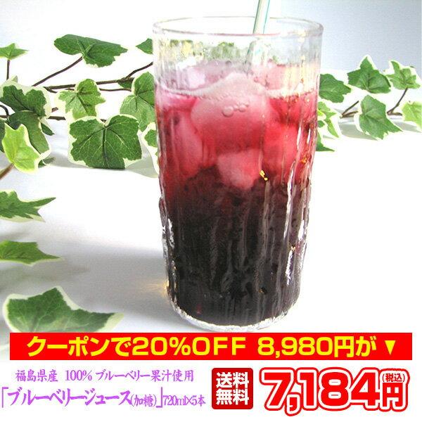 東北ハッピー農園『ストレート果汁100%ブルーベリージュース無糖』