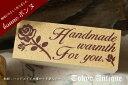 オリジナルのハンドメイドタグでプロ並みに!ハンドメイドに華を添えてハンドメイド プチローズ