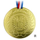 大きな金メダルの色紙寄せ書き記念品