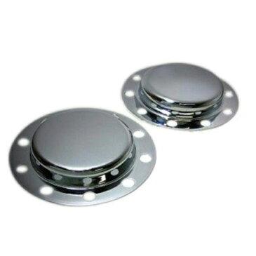 鍛冶屋 メッキリアハブキャップ[各社4t車用] L/R2枚セット ※ボルトは付属していません。
