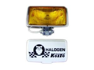【定番のKOITO製】【H3ハロゲンバルブタイプ】角型フォグランプ(24V-55Wor12V-55W)[RHF-161Y]