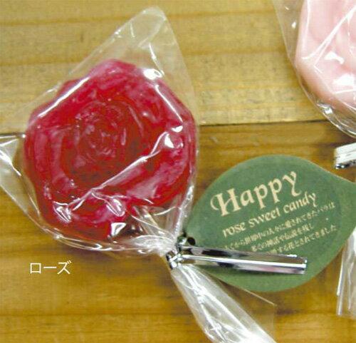 【クーポン配布中】結婚式 プチギフト おしゃれ ローズスティックキャンディー ローズ プチギフト(送賓グッズ) [飴]パーティー 二次会 ウェディング お菓子 美味しい【返品不可】