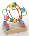 木のおもちゃ 赤ちゃん くねくねミニ・グリーン(ルーピング) 【木製玩具 木の玩具 木のオモチャ】 [名入れOK A]【RCP】【コンビニ受取対応商品】