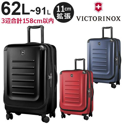 VICTORINOXのおすすめフロントオープンスーツケース