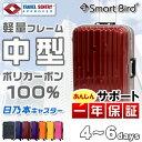 【年末特別SALE価格】 超軽量 スーツケース M サイズ ...