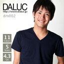 本日完全送料無料キャンペーン中!!!!!【送料無料!!】DALUC(ダルク) | ベーシックVネックショー...