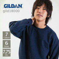 GILDAN(�������)��HeavyBland������ȥ��롼�ͥå��ȥ졼�ʡ�7.75oz��S��XL
