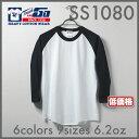 Touch&GO(タッチアンドゴー) | ベースボールTシャツ6.5oz | カラー | XXL~3XL | 62%OFF
