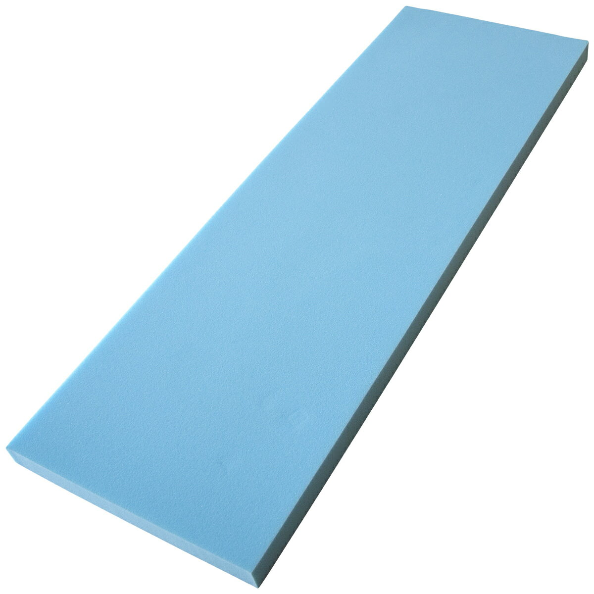 ウレタンフォーム 53×160×6cm 薄青または灰色 日焼け有り※お客様からご指摘があり追記しました
