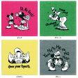 【期間中ポイント5倍】Disney(ディズニー) リゴロ タオルハンカチ ドナルドダック ミッキーマウス ミニーマウス グーフィー 約25×25cm ウチノタオル 【内野タオル】 ギフト対応 贈り物 プレゼント 自分用