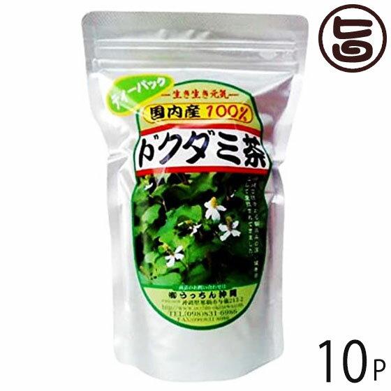 うっちん茶 ドクダミ茶 ティーパック 3g×20包×10P 沖縄 人気 定番 土産 健康茶 女性におすすめのハーブティー 条件付き送料無料