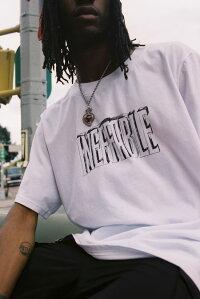 INEFFABLE(イネファブル)HANDDRAWNLOGOT-SHIRT(WHITE)[Tシャツ/カットソー/グラフィック/ロゴ/UNISEX][ホワイト]