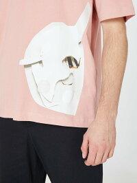 ROCHAMBEAU(ロシャンボー)CORETEE(PEACHBEIGE)[Tシャツ/カットソー/グラフィック/UNISEX][ピーチベージュ]