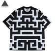 LABYRINTH (ラビリンス) PIMPS TEE (WHITE) [Tシャツ/カットソー/ゴシック/幾何学柄/UNISEX] [ホワイト]