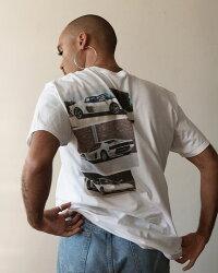 XYLK(シルク)FERRARITESTAROSSAT-SHIRT(WHITE)[Tシャツ/カットソー/グラフィック/半袖/UNISEX][ホワイト]