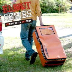 約120リッターの大容量キャリーバッグテントやエアマット・チェアー等のかさばる大きめの荷物を...