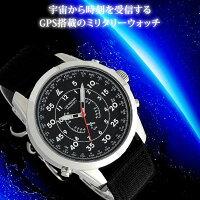 GPS腕時計メンズ【LADWEATHERラドウェザー】日付デイトカレンダー搭載GPS電波メンズ腕時計クリスマスギフトプレゼントアナログ時計男性用あす楽送料無料